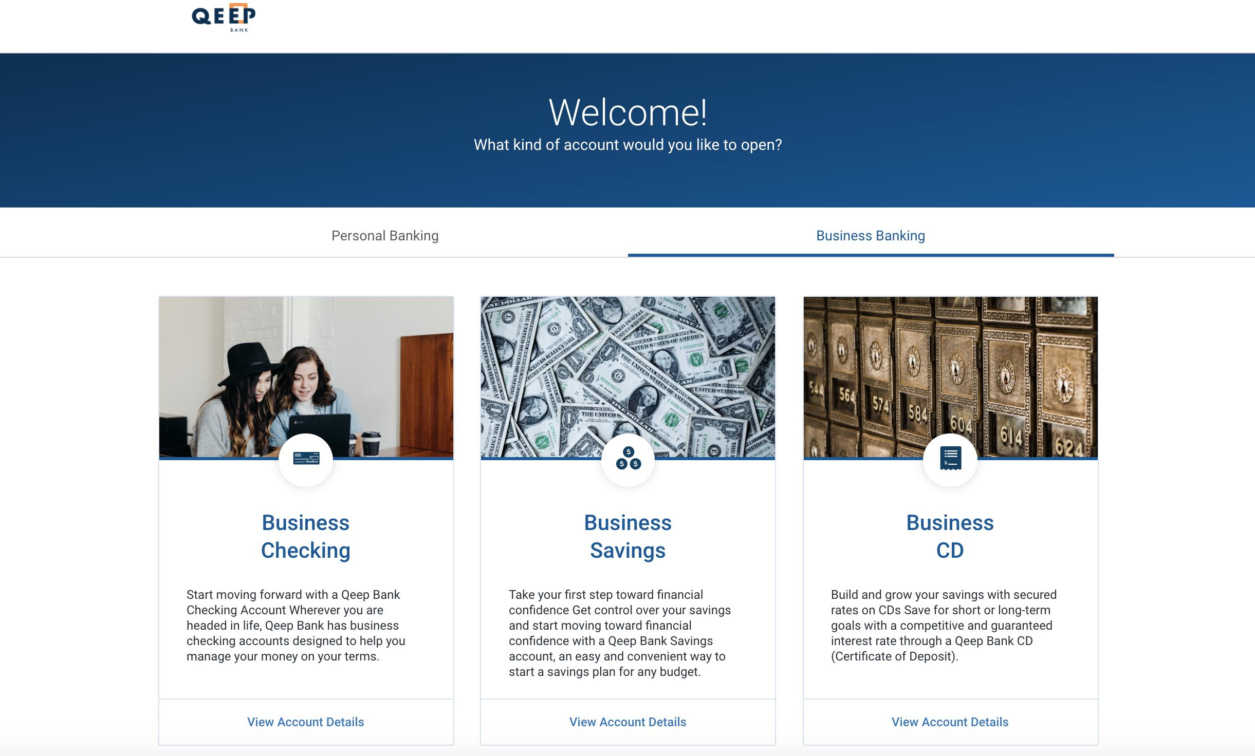 AO.2 - Welcome Business DAO Screen