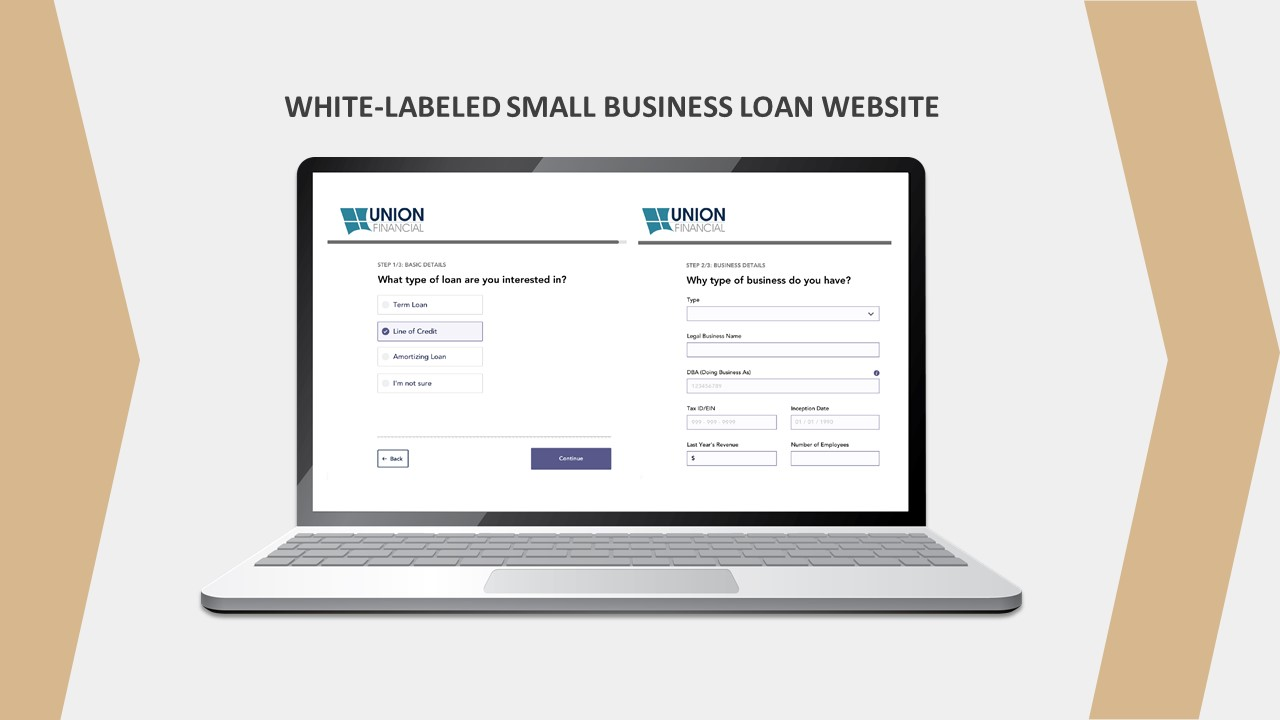 Business Loan Website